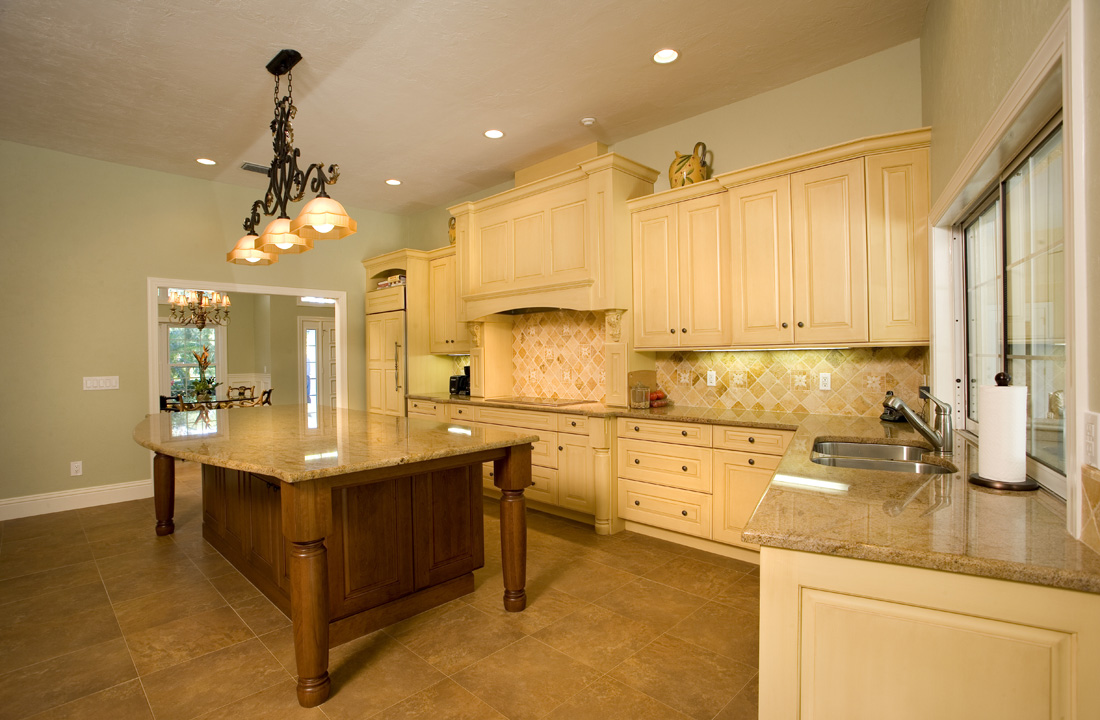 Traditional Remodeled Kitchen in Whole House Remodel in Bonita Bay, FL
