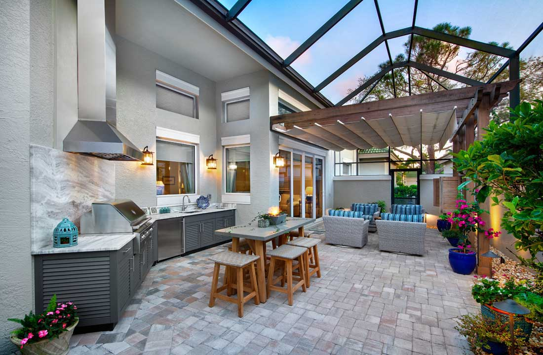 Bonita Bay Outdoor Kitchen Remodel