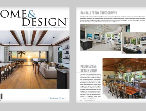 Progressive Design Build was Featured in Home & Design magazine