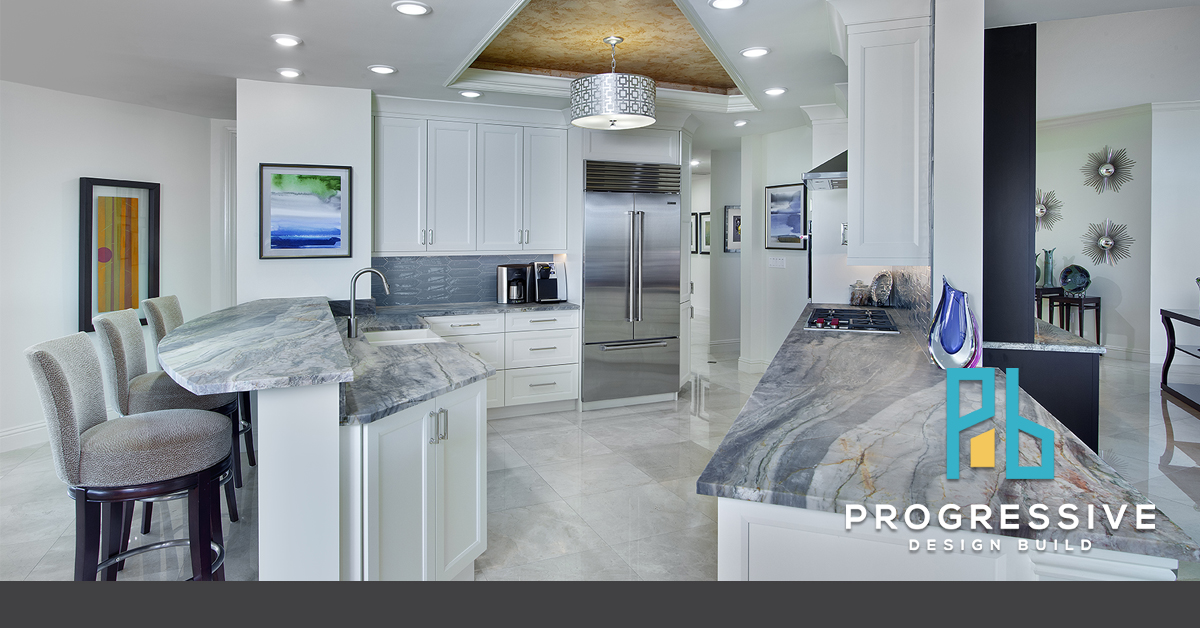 photo of the kitchen remodel done at fort myers, fl