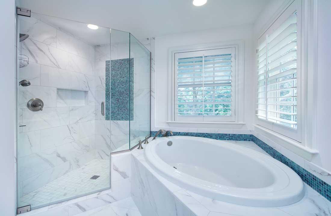 Naples FL Condo Remodel Master Bathroom Tub